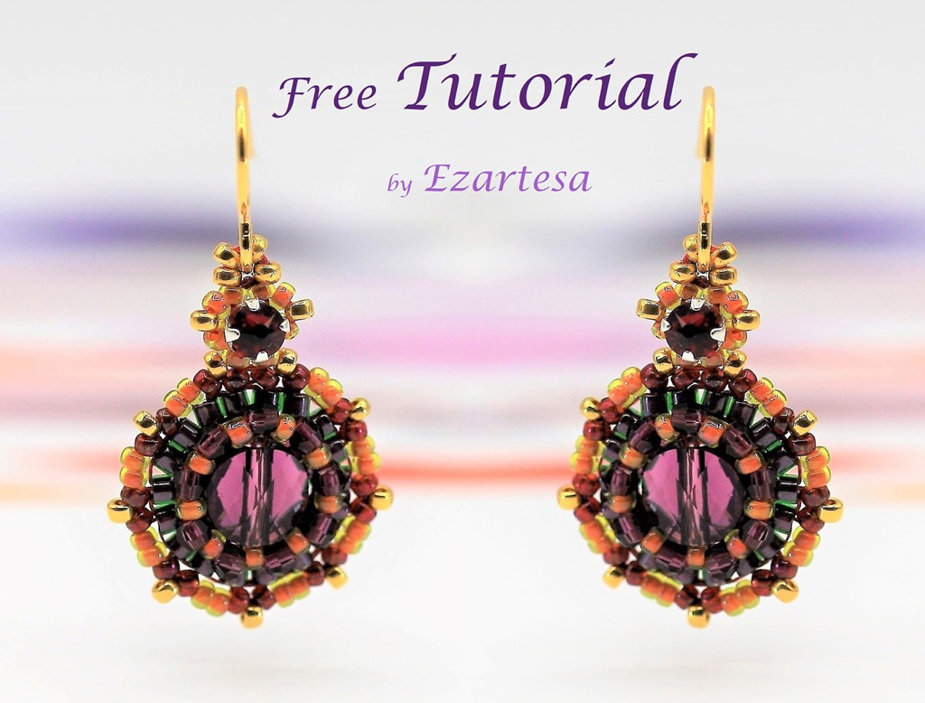 FREE Beading Tutorials | Ezartesa Blog. All about art + jewelry
