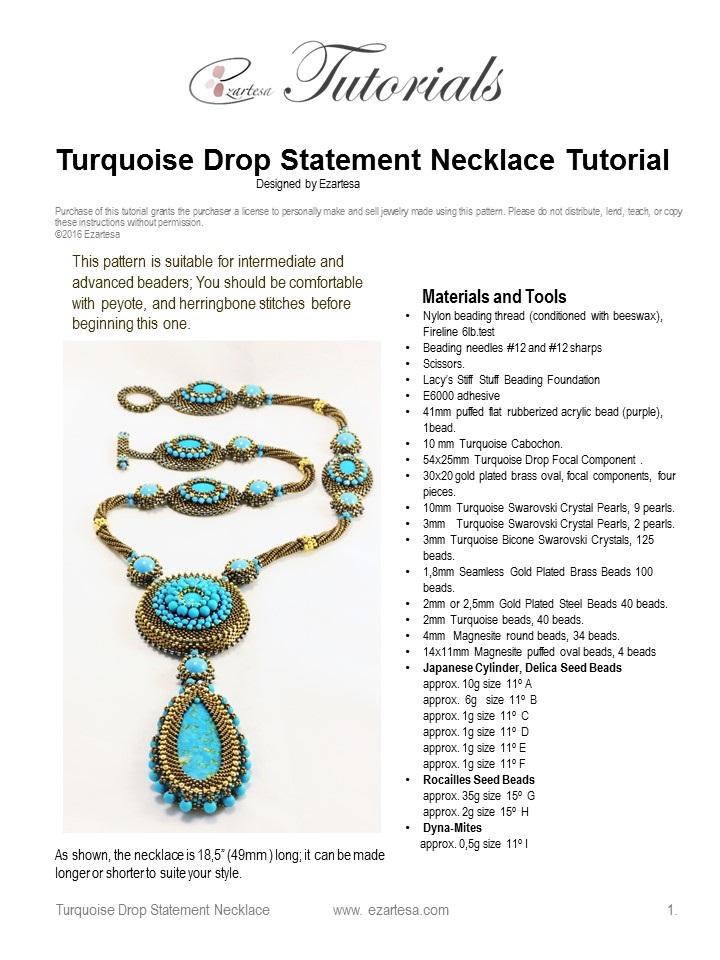 seed bead tutorials   Ezartesa Blog. All about art + jewelry