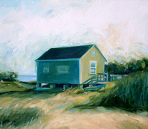 art prints for sale: Cape Cod cottage