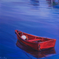 art prints for sale red boat
