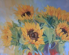 art prints stunning sunflowers artwork
