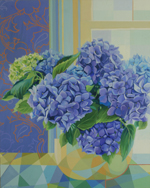 prints to buy, hydrangea flowers print