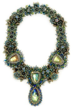 labradorite necklace by ezartesa